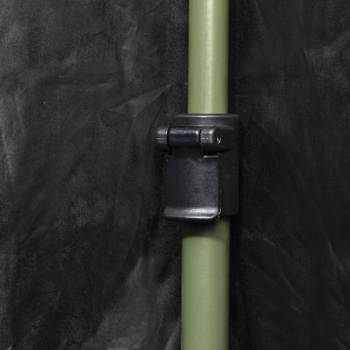 Vierkante loertent voor de jacht camouflage bruin - 1166946
