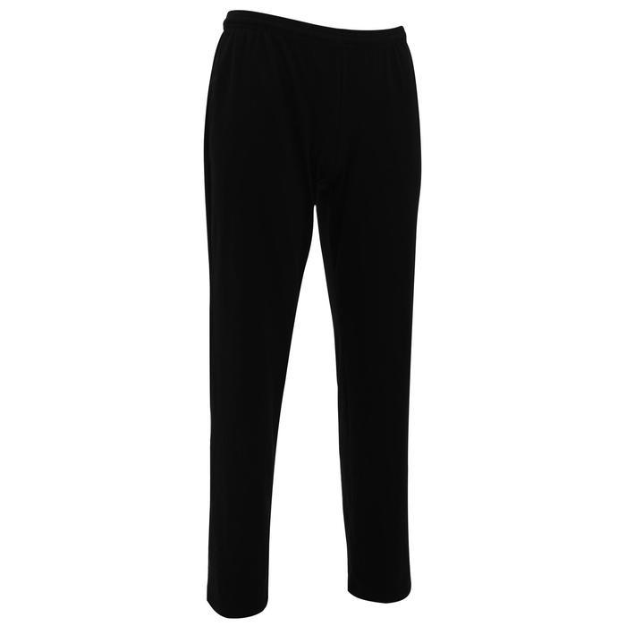 Pantalon jersey regular Gym & Pilates homme gris foncé - 1167010