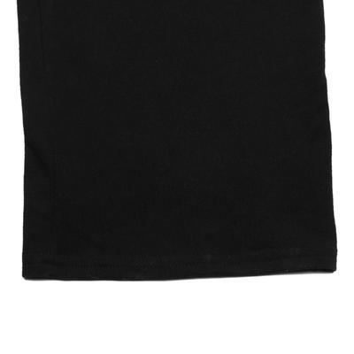 Pantalon jersey regular Gym & Pilates homme noir