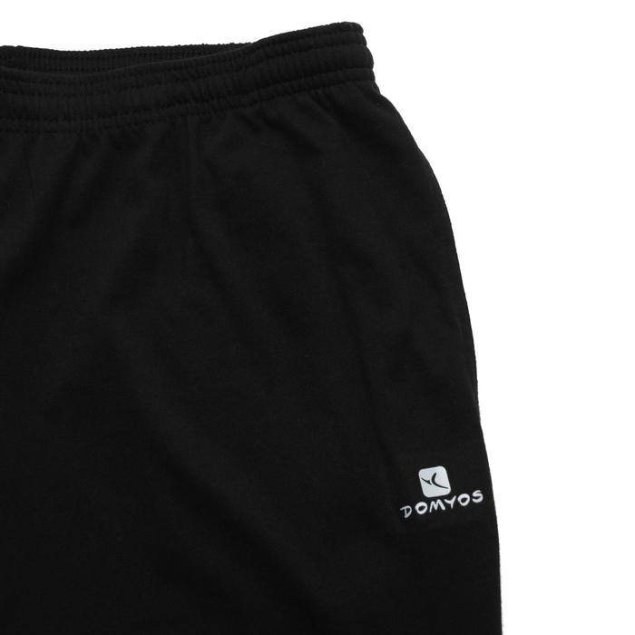 Pantalon jersey regular Gym & Pilates homme gris foncé - 1167012