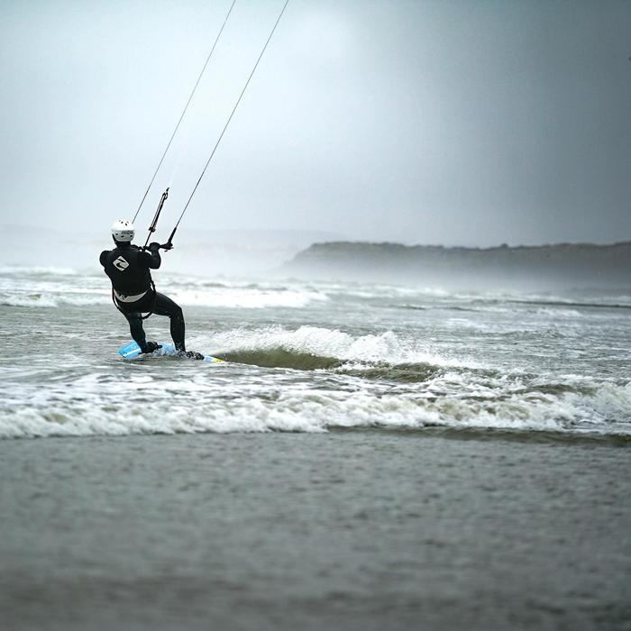 Prallschutzweste Kitesurfen - Side On
