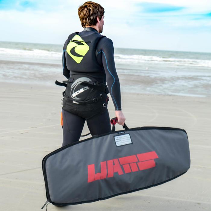 Impact vest voor kitesurfen zwart/groen