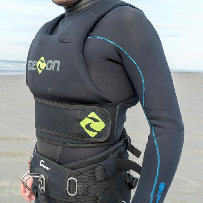 Impact vest kitesurf zwart/groen