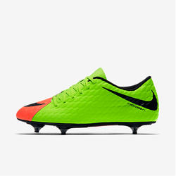 Voetbalschoenen Hypervenom Phade SG volwassenen groen
