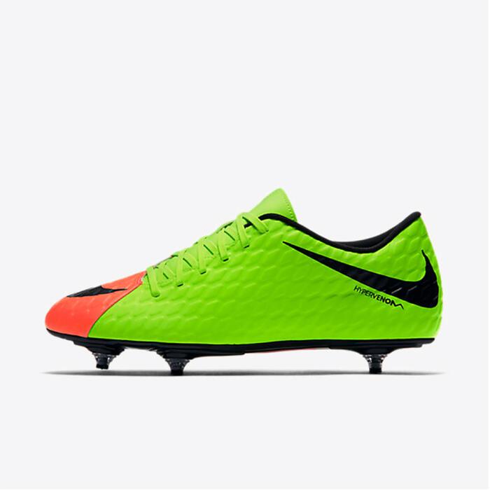 Chaussure de football adulte Hypervenom phade SG verte - 1167098