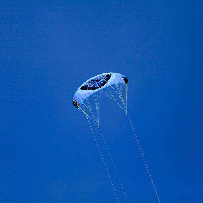 AILE DE TRACTION Zeruko 2.5 m2 + poignées de pilotage bleue - 1167148