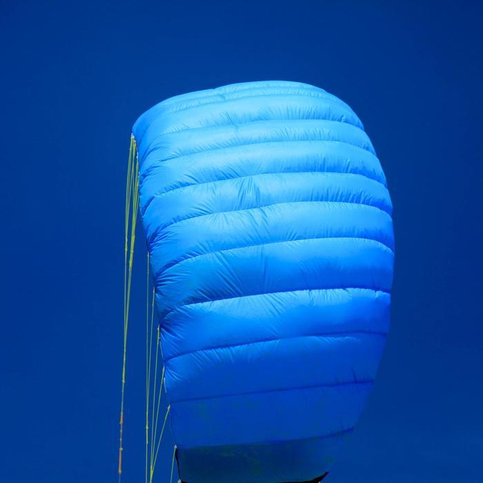Paradrachen Zeruko 2,5m² + Lenkgriffe blau