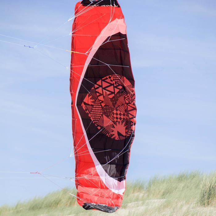 Powerkite Zeruko 3,5 m2 + handles rood