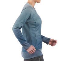 Chandail de randonnée nature femme NH150 bleu