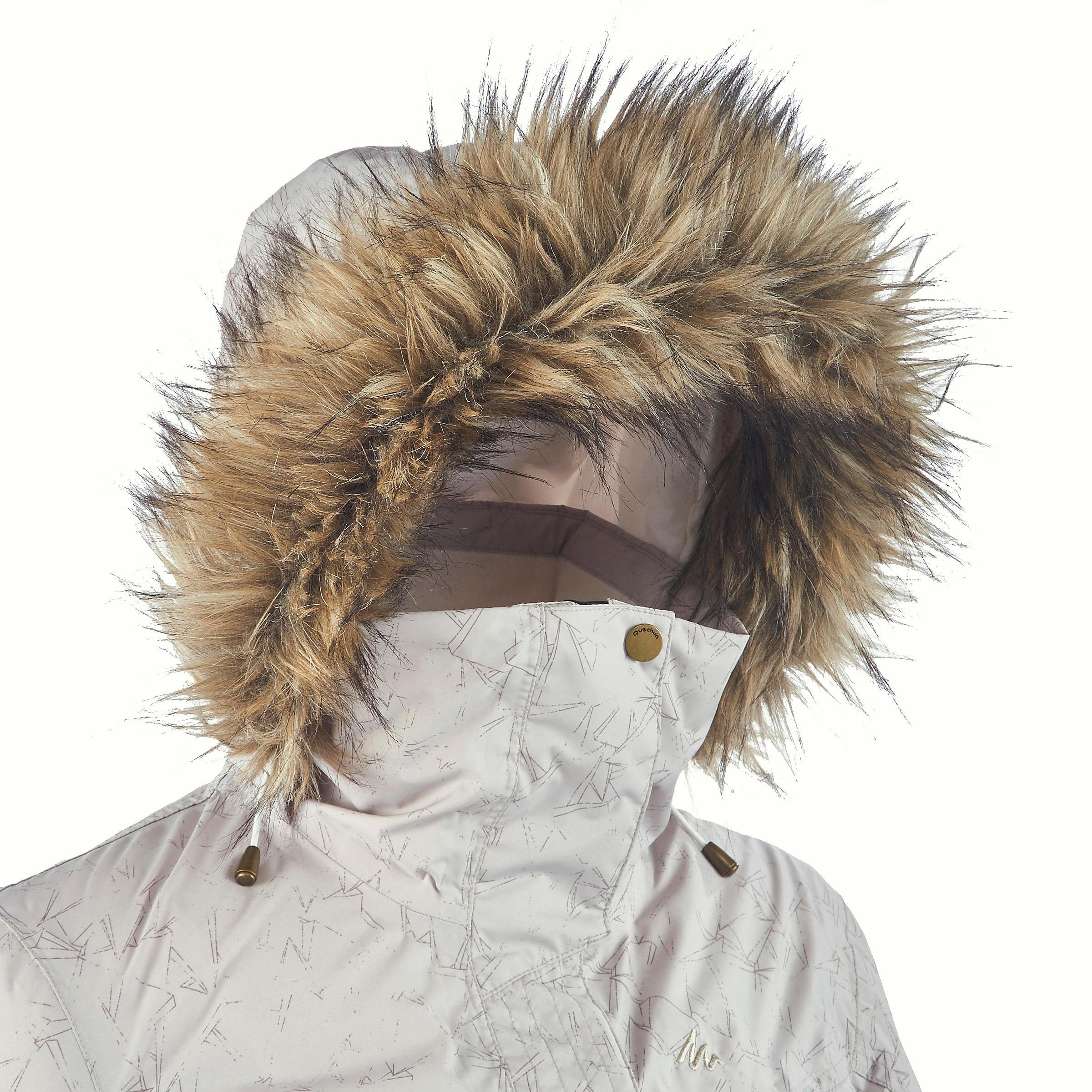 de mujer senderismo Beige Sh900 para Warm Chaqueta LpSVGqUzM