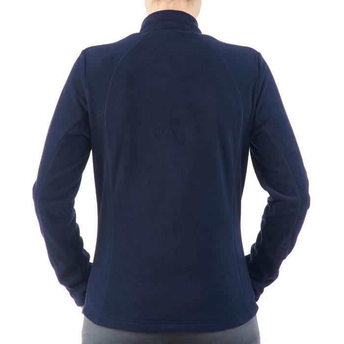 Fleecepullover Forclaz 50 Damen dunkelblau