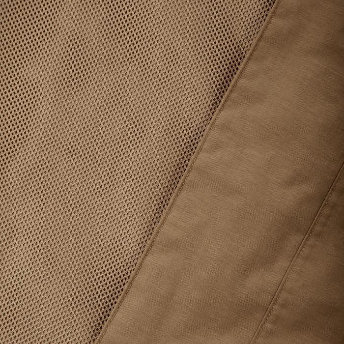 Chaqueta Impermeable senderismo en la naturaleza hombre NH400 marrón