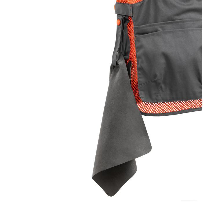 Vest 500 voor kleiduifschieten grijs