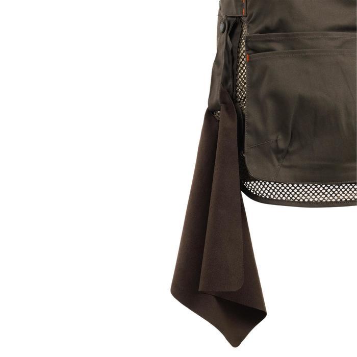 Vest voor kleiduifschieten 500 Comfort bruin