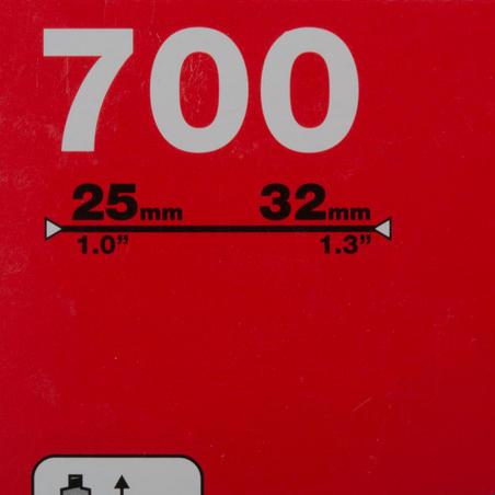 700x25/32 Inner Tube - Presta