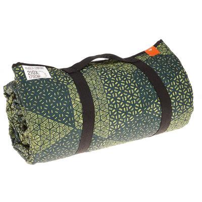 بطانية XL لأغراض التجول أو المخيمات - لون خضراء.