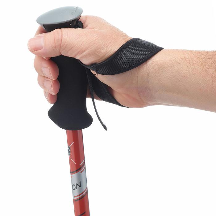 1 bâton de Randonnée forclaz 700 carbone noir orange