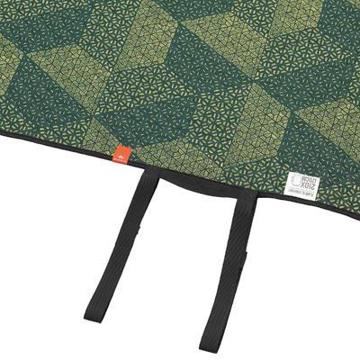 Estera XL de camping /travesía verde