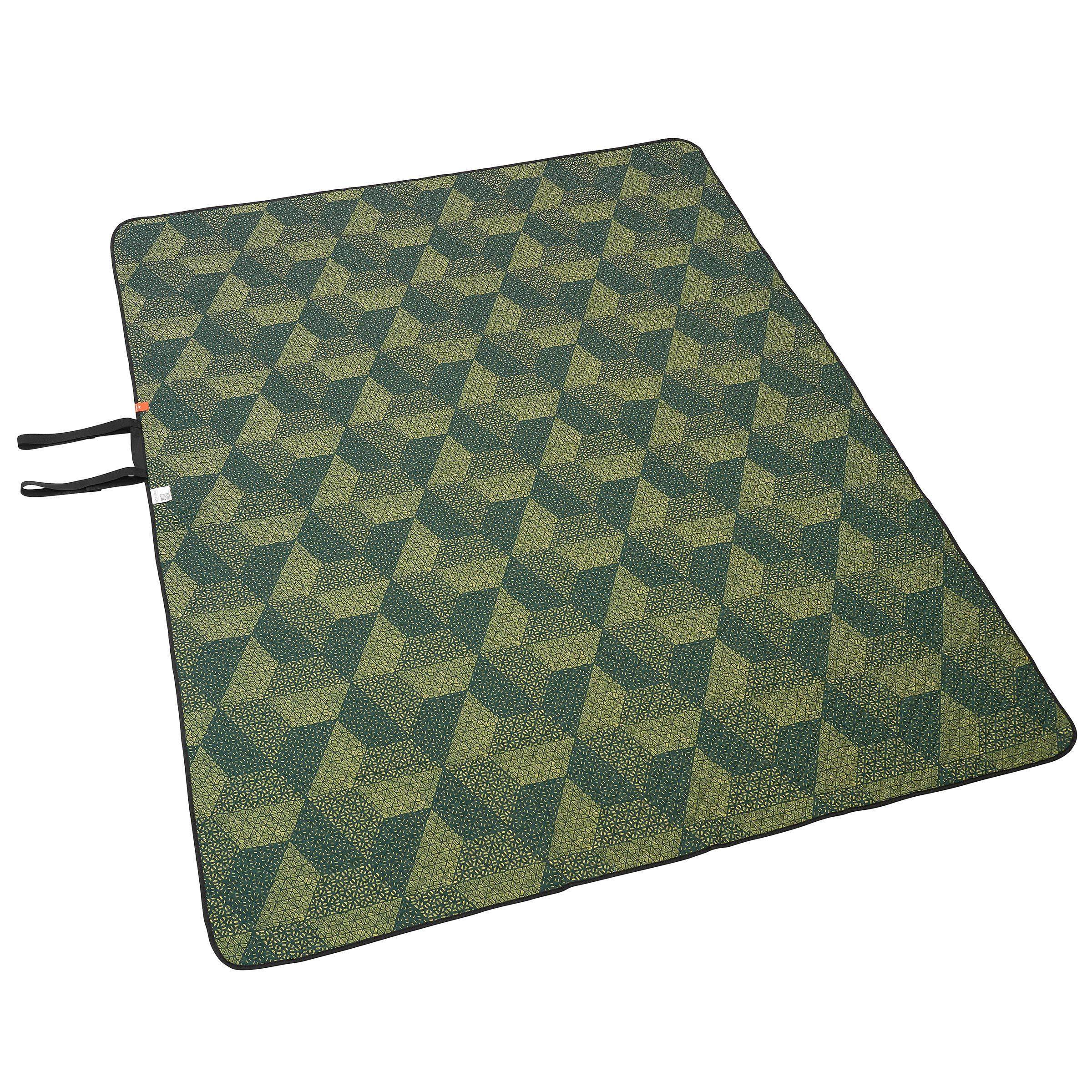 Pătură XL 170 x 210 cm verde