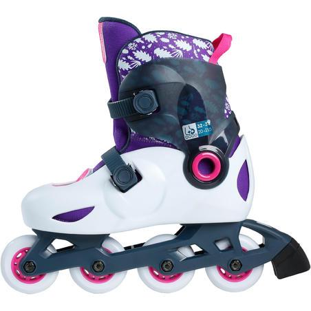 Sepatu Roda Anak Play 5 - Abu-abu Terang