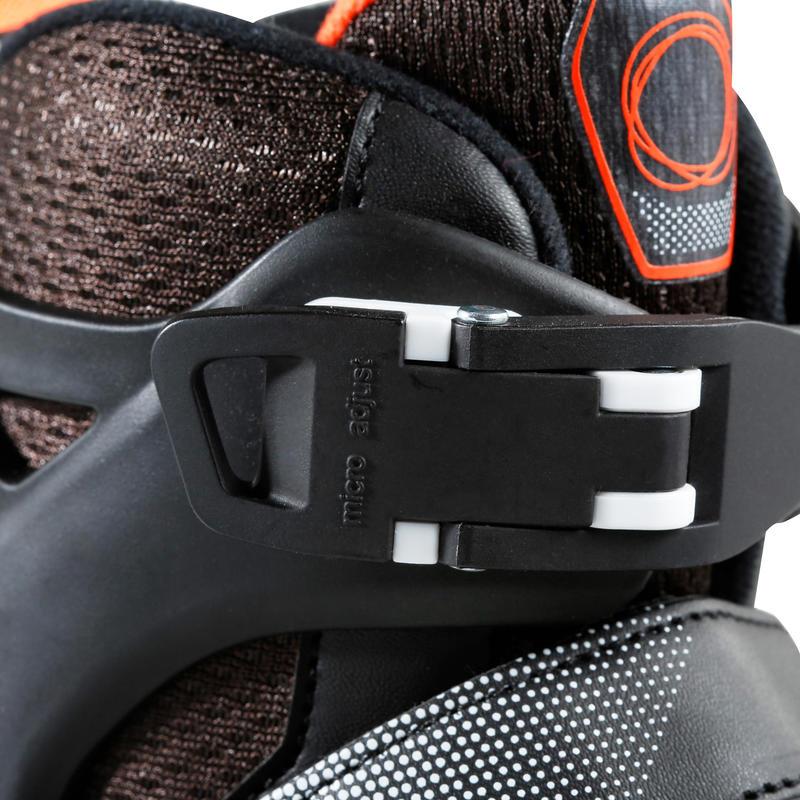 Roller fitness enfant FIT3 JR noir orange