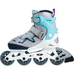 Inline Skates Inliner FIT 3 Fitness Kinder türkis