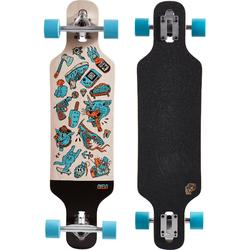 Tabla Longboard OXELO Drop Mini Core Adulto azul