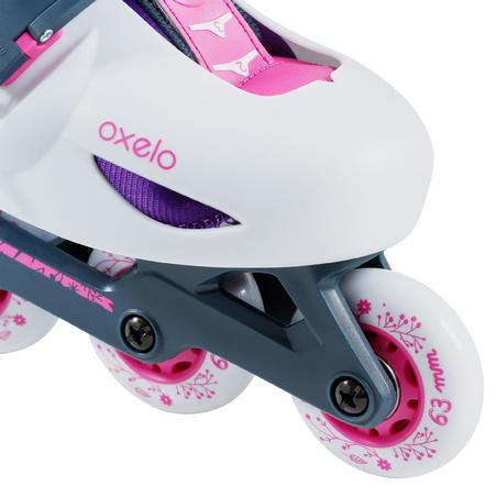 Play 5 Kids' Skates - Light Grey