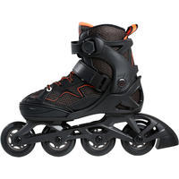 Fit 3 Kids Fitness Skates - Black/Orange