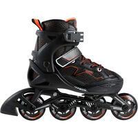Patins à roues alignées pour enfant FIT3 JR noir orange