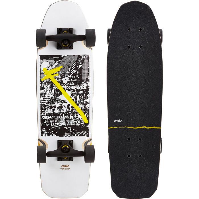 Cruiser skateboard City Trasher Ride wit