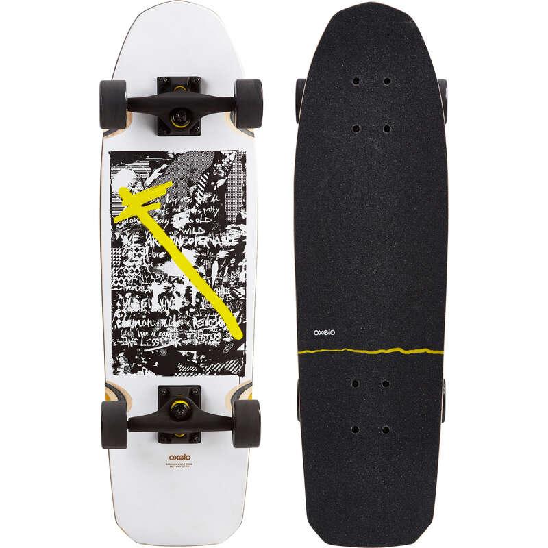 Longboardok és kiegészítők Görkorcsolya, roller, board - Gördeszka City Trasher Graph OXELO - Gördeszka, waveboard, longboard