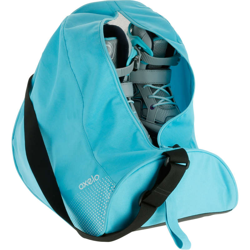 BAGS AND ACCESORIES Ice Skating - Fit Skate Bag 26 L - Turquoise OXELO - Ice Skating