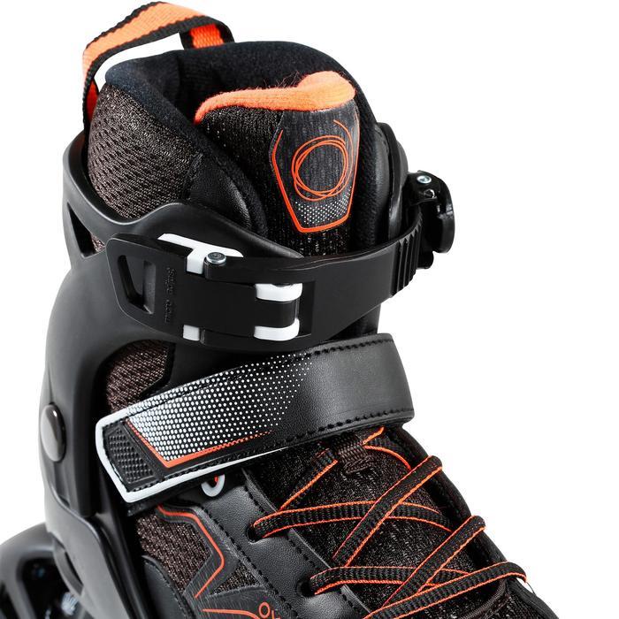 Inlineskates Inliner FIT 3 Fitness Kinder schwarz/orange