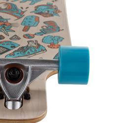 Tabla Longboard OXELO Drop Mini Core Adulto azul
