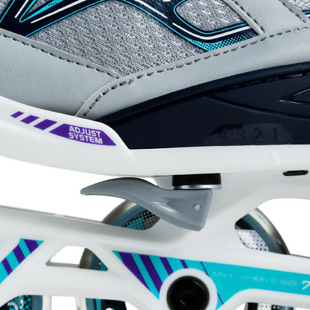 Sepatu Roda Fitness Anak Fit 3 - Toska
