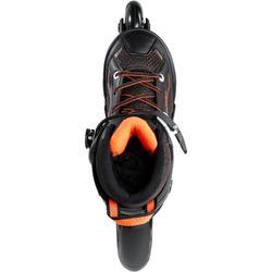 Fitness skeelers kind Fit 3 zwart oranje