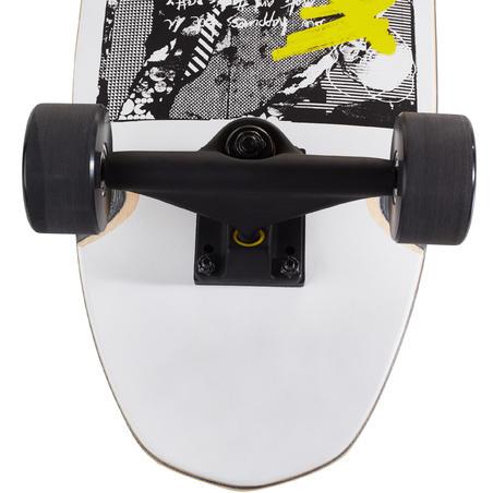 City Thrasher Cruiser Skateboard - White