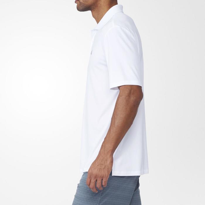 Polo de golf homme manches courtes Adidas temps chaud blanc - 1168078