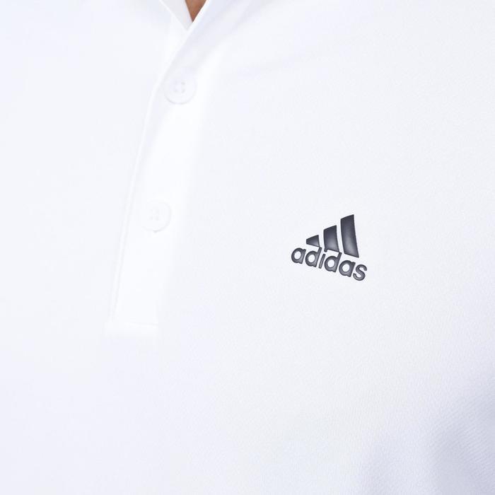Polo de golf homme manches courtes Adidas temps chaud blanc - 1168083