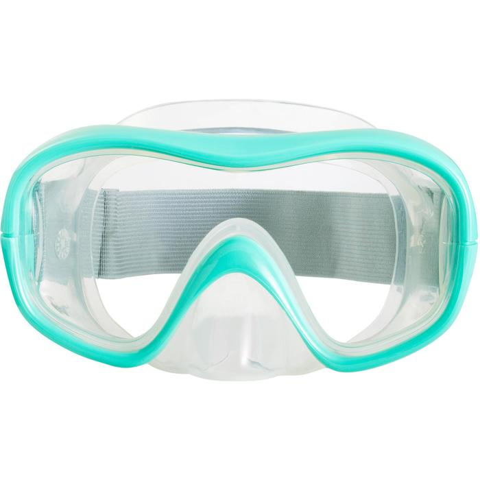 Snorkelling Mask SNK 500 Jr turquoise CN