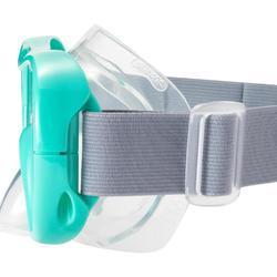 兒童款浮潛面鏡SNK 500-淺碧藍色