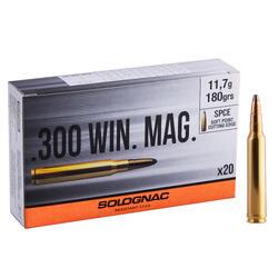 Bala 300 WINCHESTER MAGNUM 11,7G/180GRS X20