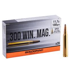 Balle 300 WINCHESTER MAGNUM 11,7G/180GRS X20