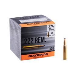 Bala 222 REMINGTON 3,24G/50GRS X50