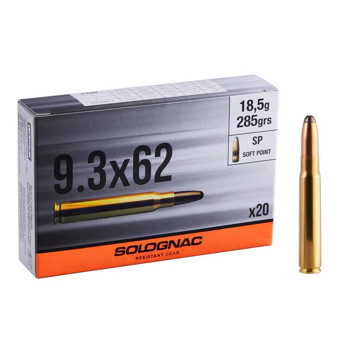 Bala Caza Solognac 9,3x62 18,5Gr/285Greins X20 Soft Point