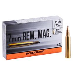 Bala 7mm REMINGTON MAGNUM 11,2G/173GRS X20