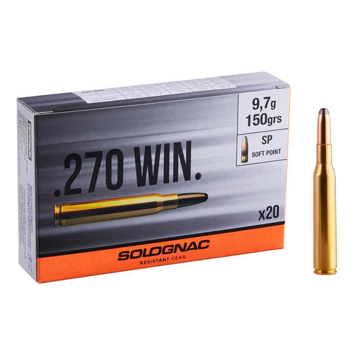Bala 270 WINCHESTER 9,7 g /150 GRS X20