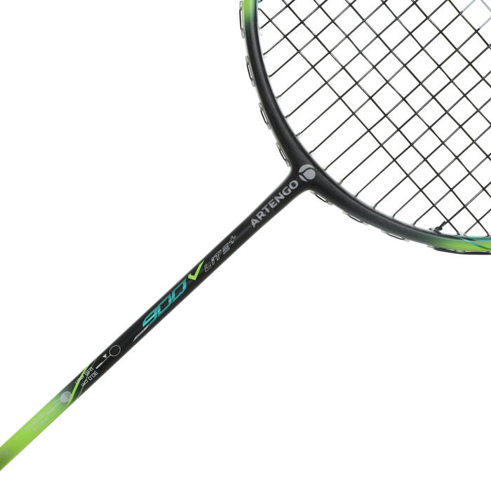 Badmintonracket BR900 Artengo Ultra Lite V voor volwassenen grijs
