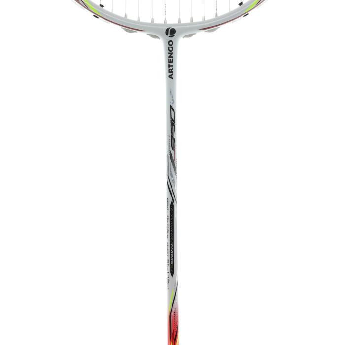 RAQUETTE BADMINTON ADULTE BR 990 V WHITE - 1168473